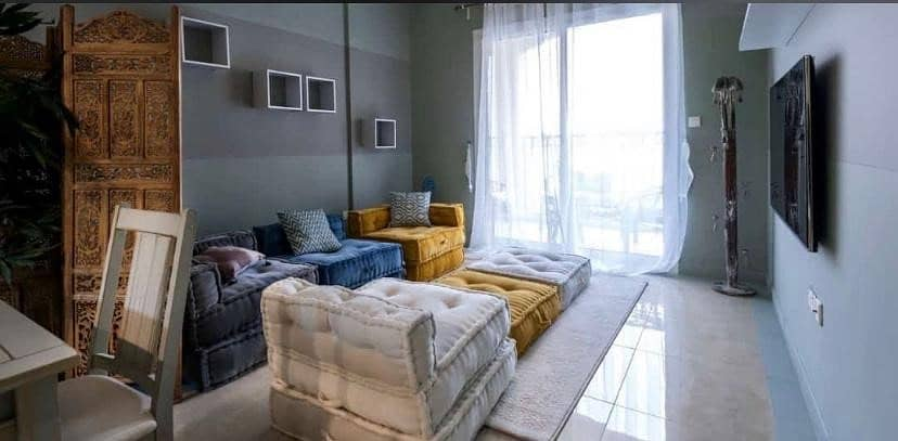 Ready- Furnished Apartment / One Bedroom /10- Years Payment Plan / Jumeirah Village Circle(JVC)