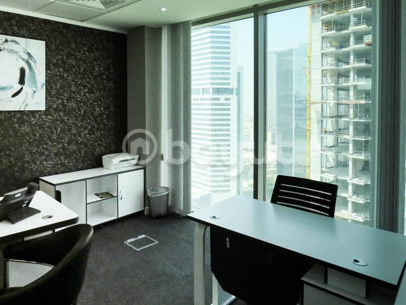 2 Shared office space with all utility bills covered