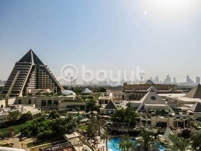 فلیٹ 2 غرفة نوم للايجار في بر دبي، دبي - شقة في وافي ريزيدنس مدينة دبي الطبية بر دبي 2 غرف 170000 درهم - 4274943