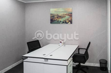 Fully fitted 200sqft office spaces in 6 cheque payment- NO COMMISSION