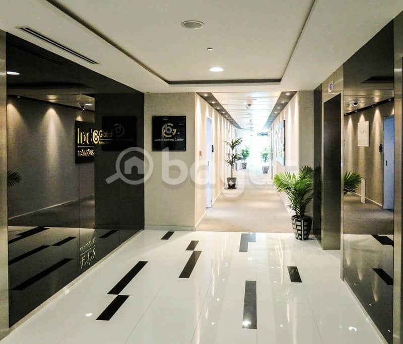 2 Fully fitted 200sqft office spaces in 6 cheque payment- NO COMMISSION