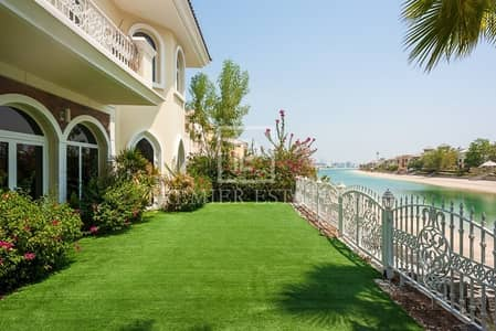 5 Bedroom Villa for Rent in Palm Jumeirah, Dubai -  furnished option