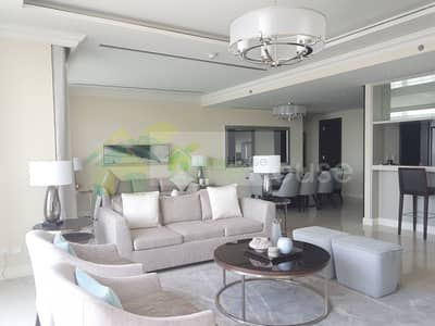3 Bedroom Apartment for Rent in Downtown Dubai, Dubai - Luxurious | Furnished | Fully Fountain View