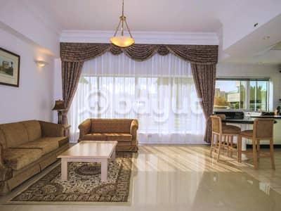 فلیٹ 1 غرفة نوم للايجار في بر دبي، دبي - شقة في وافي ريزيدنس مدينة دبي الطبية بر دبي 1 غرف 120000 درهم - 4274479
