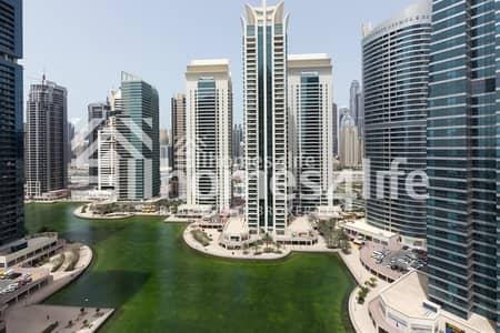 1 Bedroom Flat for Rent in Jumeirah Lake Towers (JLT), Dubai - 1 B/R - Higher Floor - Lake Shore JLT