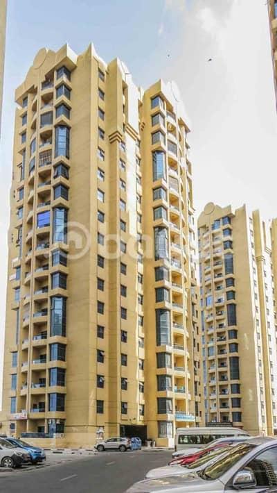 فلیٹ 2 غرفة نوم للايجار في عجمان وسط المدينة، عجمان - شقة في أبراج الخور عجمان وسط المدينة 2 غرف 31000 درهم - 4275479