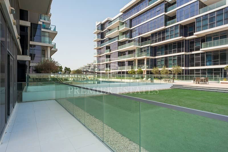 2 Bed with Maids Pool View & Kitchen Appliances