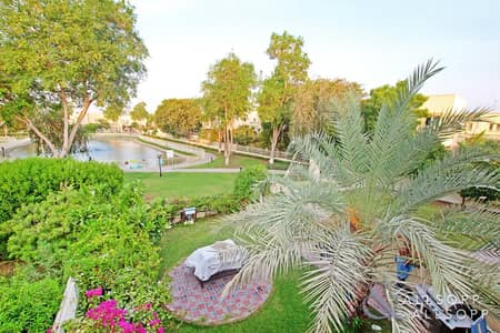 3 Bedroom Villa for Sale in The Springs, Dubai - Lake and Pool View | 3 Bedrooms | Vacant