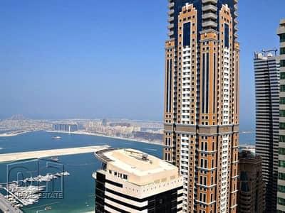 فلیٹ 2 غرفة نوم للايجار في دبي مارينا، دبي - Chiller Free- High Floor - Bright & Spacious