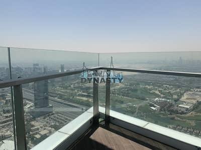 شقة 4 غرفة نوم للايجار في دبي مارينا، دبي - High Floor Penthouse with full palm view