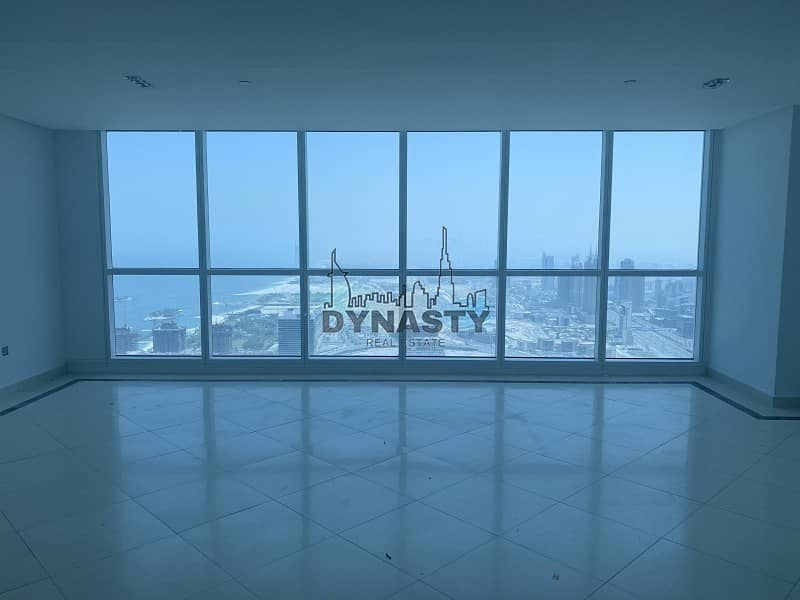 2 High Floor Penthouse with full palm view