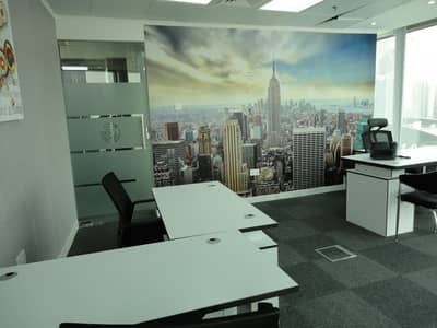 No commission - Fully furnished office spaces with DEWA & PARKING
