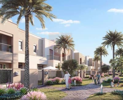 3 Bedroom Townhouse for Sale in Town Square, Dubai - Affordable 3BR Sama TH | 50/50 Payment Plan