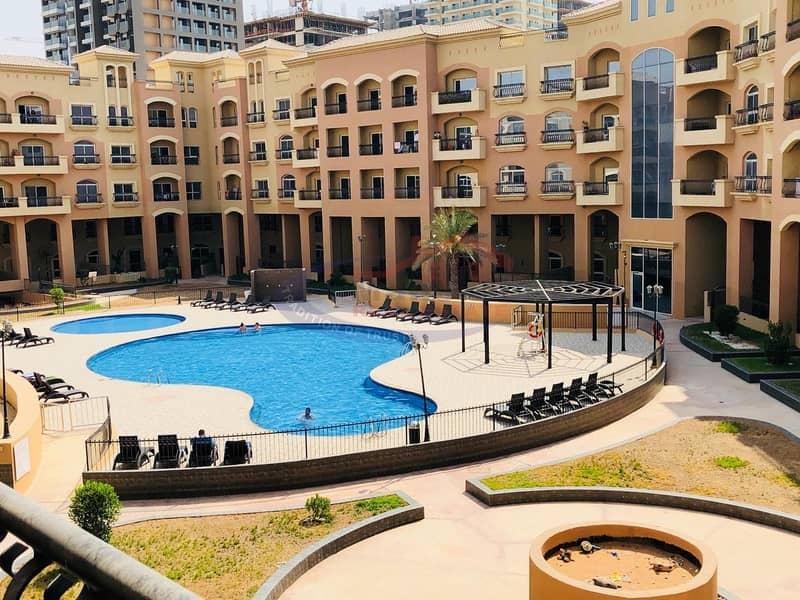 10 1 Bedroom for rent in Diamond views JVC Dubai