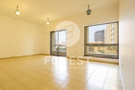شقة 2 غرفة نوم للبيع في جي بي ار، دبي - Spacious 2 Bedrooms   Vacant   Low Floor