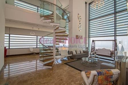 بنتهاوس 4 غرفة نوم للبيع في مركز دبي المالي العالمي، دبي - Fully Upgraded 4BR Plus Maids Luxuries Penthouse