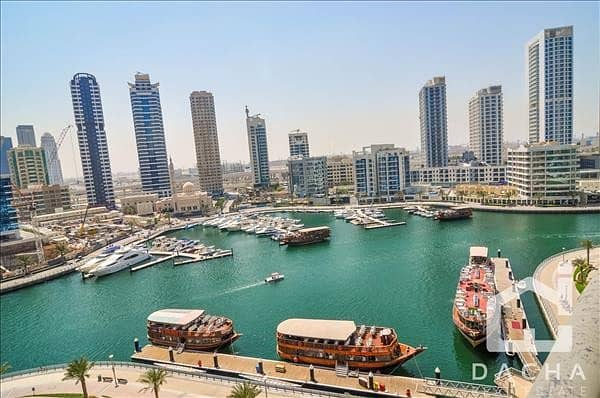 Luxury Spacious Apartment with Full Marina View