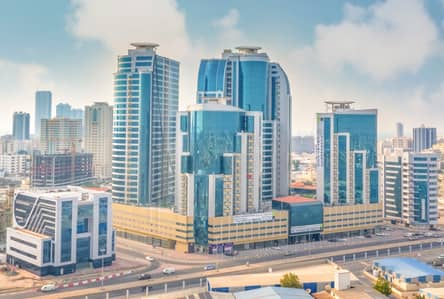 1 Bedroom Flat for Sale in Al Bustan, Ajman - Full sea view . . . one bedroom for sale
