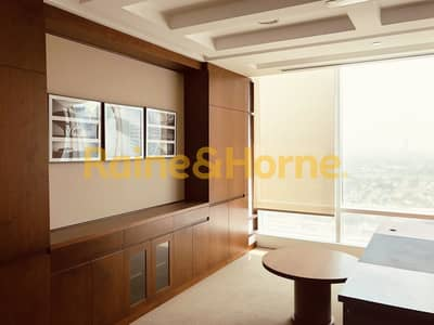 Office for Rent in Jumeirah Lake Towers (JLT), Dubai - Luxury Fit-Out | Partitioned | Awesome View