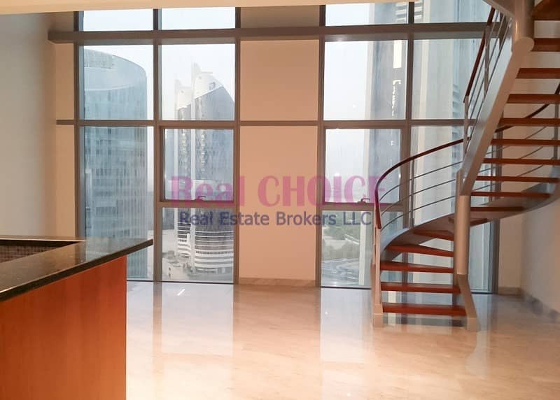Spacious 2BR Duplex Apartment|High Floor Property