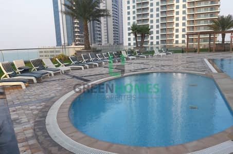 3 Bedroom Flat for Rent in Al Reem Island, Abu Dhabi - 3 BR APT W/BALCONY  IN 6 PYT NO CHILLER FEE
