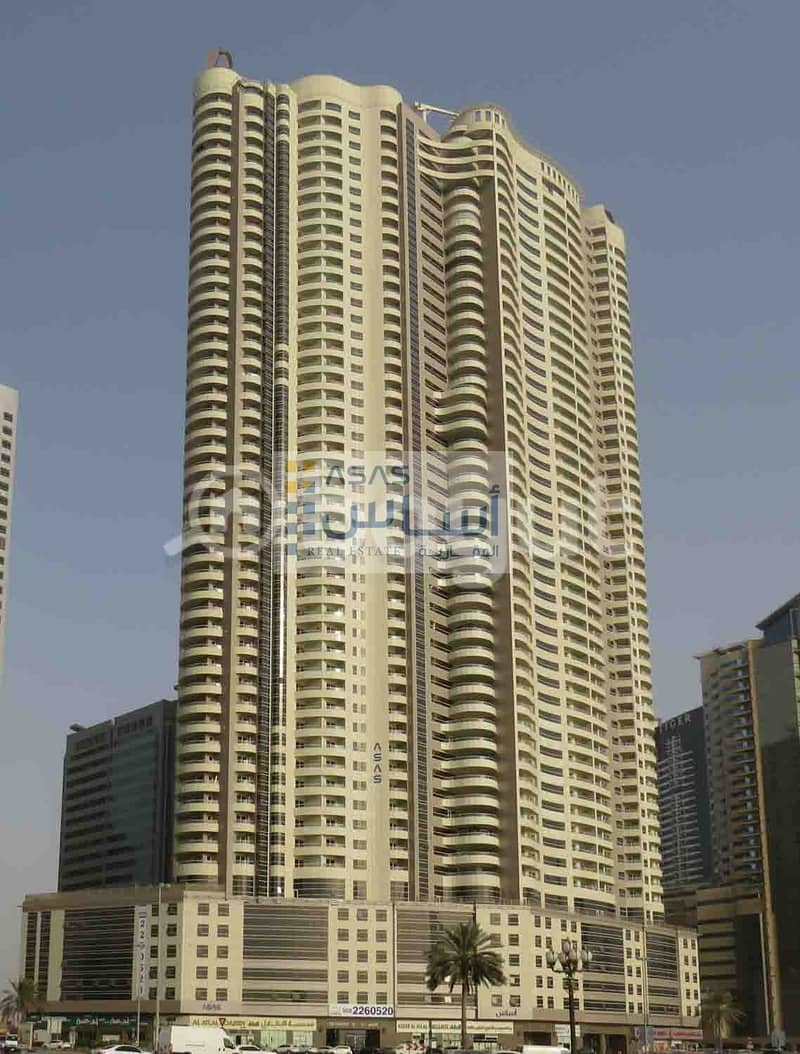 LUXURIOUS TWO BEDROOM WITH 1 MONTH FREE & 1 PARKING IN ASAS TOWER