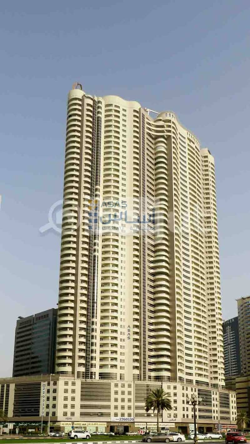 41 LUXURIOUS TWO BEDROOM WITH 1 MONTH FREE & 1 PARKING IN ASAS TOWER
