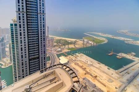 4 Bedroom Flat for Sale in Dubai Marina, Dubai - Full Sea View | High Floor 4 Beds | Vacant