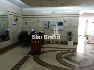 Showroom for Rent in Airport Street, Abu Dhabi - SPACIOUS SHOWROOM IN NEW BUILDING AT AIRPORT ROAD FOR RENT