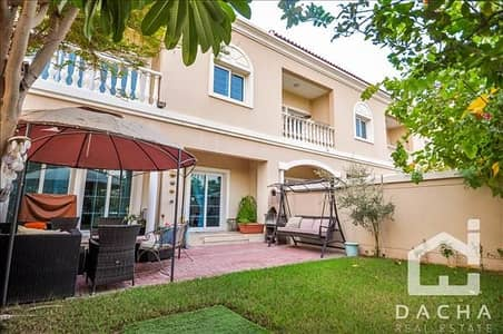 3 Bedroom Townhouse for Sale in Jumeirah Village Circle (JVC), Dubai - EXCLUSIVE / Park Backing / Upgraded to 3Br