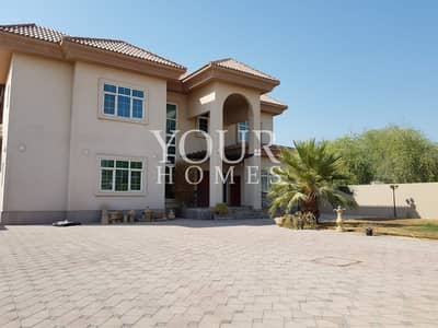 فیلا 5 غرف نوم للايجار في البرشاء، دبي - Beautiful 5BR + 2Kitchens + Pvt Pool & Garden