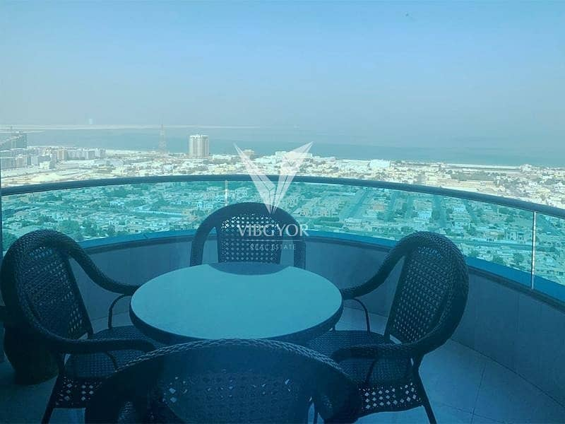 2 Full Sea View- Vacant 4BR+Maid with 2 Balcony