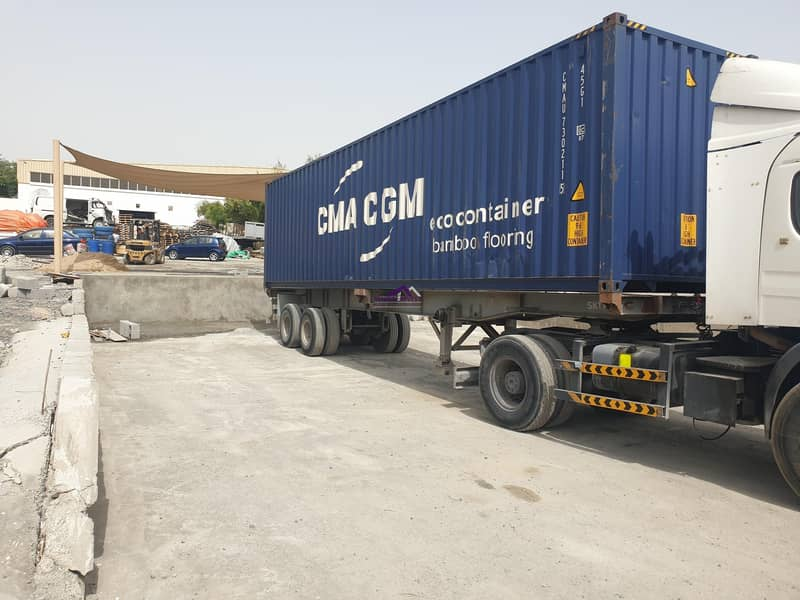 Commercial Plot with Warehouse for long term lease in an excellent location in Ras Al Khor for AED 350K/Yr