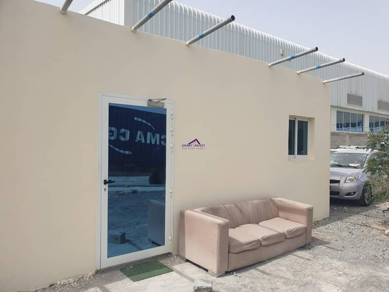 7 Commercial Plot with Warehouse for long term lease in an excellent location in Ras Al Khor for AED 350K/Yr