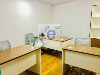 Office for Rent in Business Bay, Dubai - New/Fully Furnished with Ejari/All-Inclusive/Prime Location