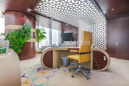 Office for Rent in Business Bay, Dubai -  Fitted Office with Amazing Views