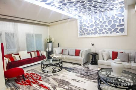 5 Bedroom Villa for Rent in The Meadows, Dubai - Fully Upgraded | Type 7 | 5 Beds | Maids