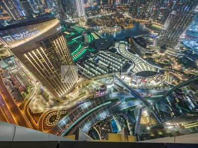 شقة 4 غرف نوم للبيع في وسط مدينة دبي، دبي - Breathtaking Views | Luxury Sky Collection Unit
