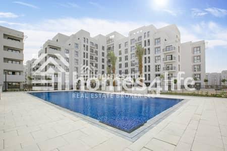 شقة 3 غرف نوم للايجار في تاون سكوير، دبي - 3 Bed with Pool View Island Kitchen Call to View