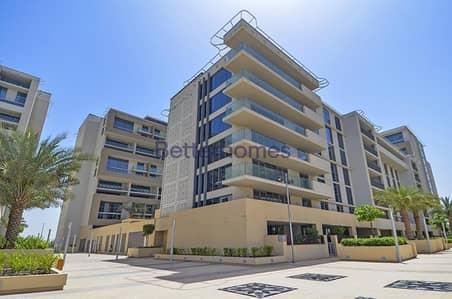 شقة 2 غرفة نوم للايجار في شاطئ الراحة، أبوظبي - Spacious Two bedroom beachfront apartment in Al Zeina