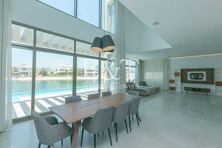 فیلا 5 غرف نوم للبيع في نخلة جميرا، دبي - High-end Custom Made Villa With Luxury Finish | PJ