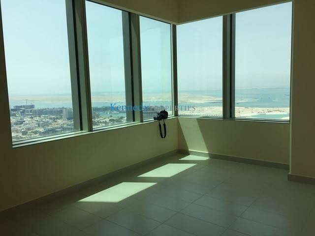 2 2 bed high floor best views in Abu Dhabi