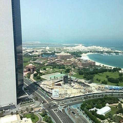 10 2 bed high floor best views in Abu Dhabi