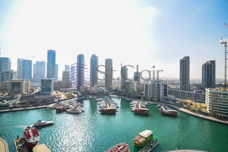 Vacant 3 Beds | Full Marina View | Mid Floor