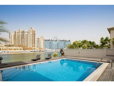 5 Bedroom Villa for Rent in Palm Jumeirah, Dubai - Fully Furnished | Garden Lobby | Palm Jumeirah