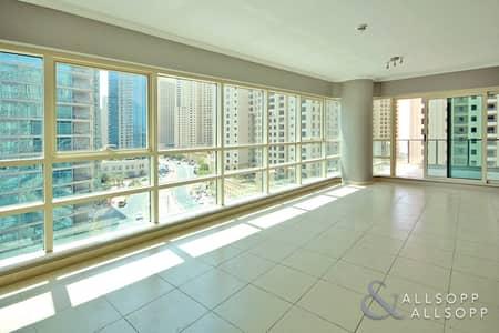 1 Bedroom Apartment for Sale in Dubai Marina, Dubai - One Bed | Marina View | Balcony | Vacant