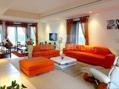 4 Bedroom Villa for Rent in Green Community, Dubai - 4 bed Corner Villa I Huge Green Garden