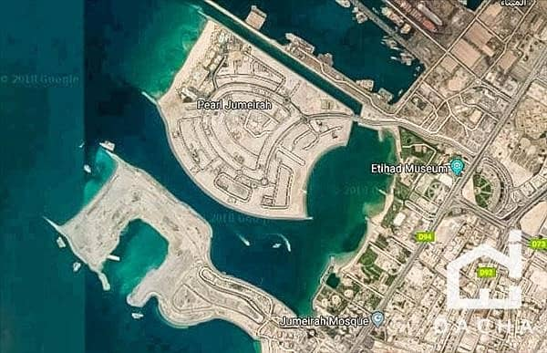 10 Exclusive / Freehold Plot / Jumeirah Pearl Island