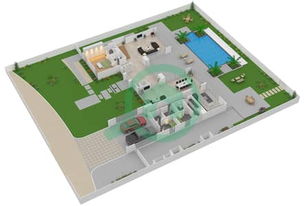 The Nest - 4 Bedroom Villa Type A1-R Floor plan