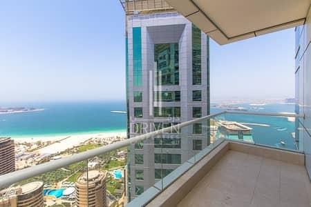 شقة 1 غرفة نوم للبيع في دبي مارينا، دبي - Cozy 1 br Apt with Breathtaking Views